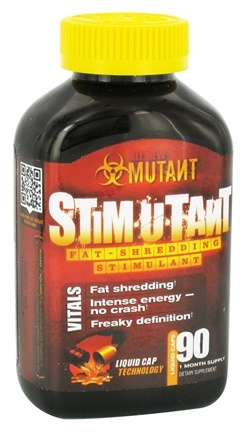 DROPPED: Mutant - Stimutant Fat-Shredding Stimulant - 90 Liquid Capsules