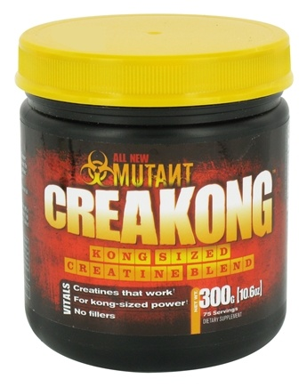 DROPPED: Mutant - Creakong Kong-Sized Creatine Blend - 300 Grams