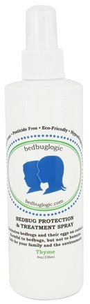 BedbugLogic - Bedbug Protection & Treatment Spray Thyme - 8 oz.