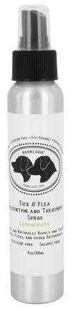 DROPPED: BarkLogic - Natural Tick & Flea Spray Lemongrass - 4 oz.