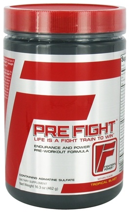 DROPPED: Infinite Labs - Pre Fight Endurance and Power Pre-Workout Formula Tropical Blast - 16.3 oz.