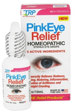 DROPPED: TRP Company - PinkEye Relief Sterile Eye Drops - 0.33 oz.