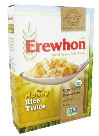 Erewhon - Organic Whole Grain Cereal Honey Rice Twice - 10 oz.