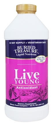 DROPPED: Buried Treasure Products - Live Young Antioxidant Whole Food Complex - 32 oz.