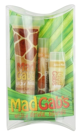 DROPPED: Mad Gab's - Wildly Natural Giraffe Lip Care Trio - 1 Set(s)