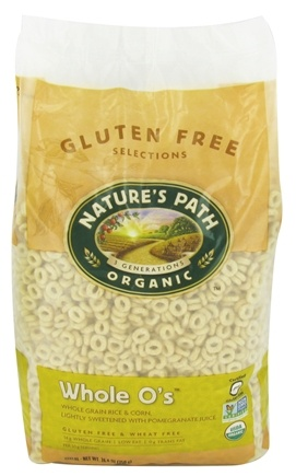 Nature's Path Organic - Gluten Free Whole O's Cereal - 24.6 oz.