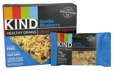 Kind Bar - Healthy Grains Bars Vanilla Blueberry - 5 Bars