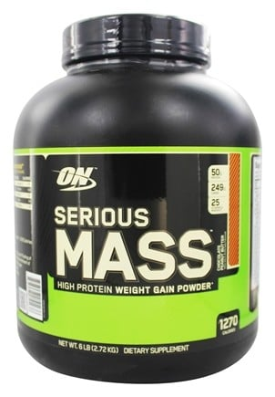 Optimum Nutrition - Serious Mass Chocolate Peanut Butter - 6 lbs.
