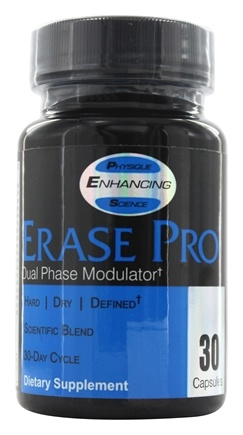 DROPPED: PES: Physique Enhancing Science - Erase Pro Dual Phase Modulator - 30 Capsules