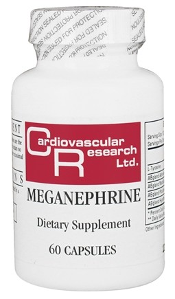 DROPPED: Ecological Formulas - Meganephrine - 60 Capsules (Formerly Cardiovascular Research)