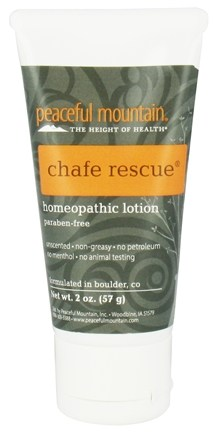 DROPPED: Peaceful Mountain - Chafe Rescue Homeopathic Lotion - 2 oz.