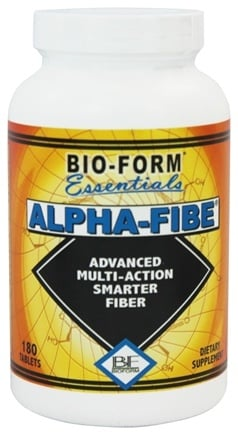 Bio-Form Essentials - Alpha-Fibe FBC-x Advanced Multi-Action Smarter Fiber - 180 Tablets