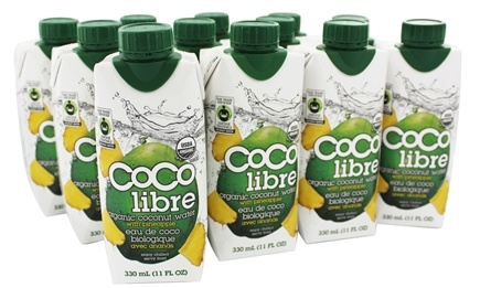 Coco Libre - Pure Organic Coconut Water Pineapple - 11 oz.