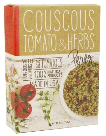 DROPPED: Pereg - 100% Natural Couscous Tomato & Herbs - 5.6 oz.
