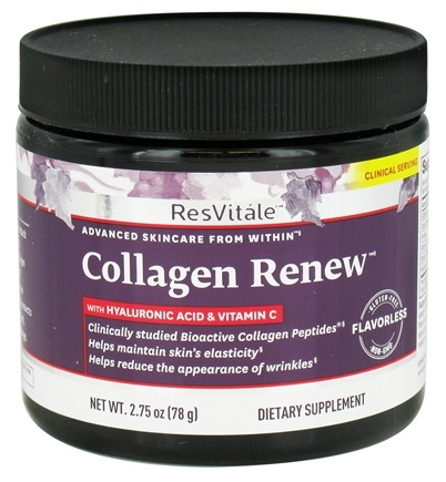ResVitale - Collagen Renew with Hyaluronic Acid & Vitamin C - 2.75 oz.
