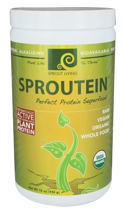 DROPPED: Sprout Living - Sproutein Protein Superfood - 16 oz.