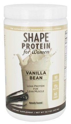 Shape Nutritional - Protein For Women Vanilla Bean - 10.7 oz.