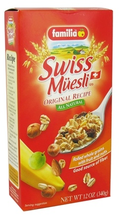 DROPPED: Familia - Swiss Muesli All Natural Original Recipe - 12 oz.