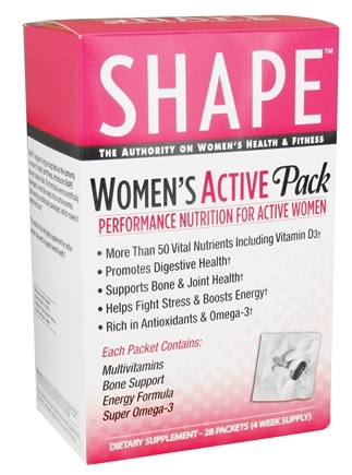 Shape Nutritional - Women's Active Pack - 28 Packet(s)