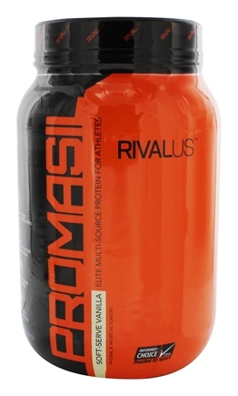 Rivalus - Promasil The Athletes Protein Soft Serve Vanilla - 2 lbs.