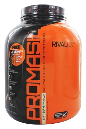 Rivalus - Promasil The Athletes Protein Soft Serve Vanilla - 5 lbs.