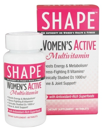 DROPPED: Shape Nutritional - Women's Active Multivitamin - 60 Tablets