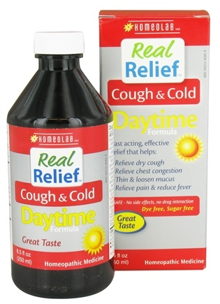 Homeolab USA - Real Relief Cough & Cold Daytime Formula - 8.5 oz.