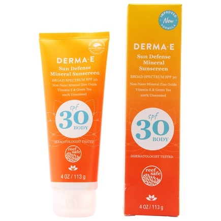 Derma-E - Antioxidant Natural Sunscreen Body Lotion 30 SPF - 4 oz.