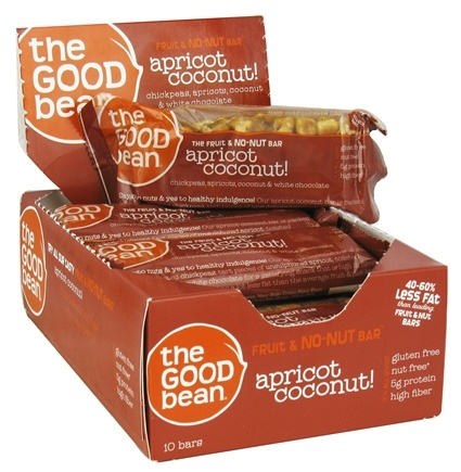 DROPPED: The Good Bean - Gluten Free Fruit and No-Nut Bar Apricot & Coconut - 1.41 oz.