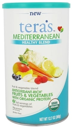 Tera's Whey - Mediterranean Healthy Blend - 12.7 oz.
