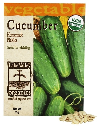 Lake Valley Seed - Organic Cucumber Homemade Pickles Seeds - 2 Grams