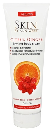 Skin by Ann Webb - Naturals Firming Body Cream Citrus Ginger - 8 oz.