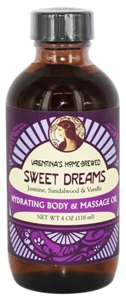 DROPPED: Valentina's Home Brewed - Hydrating Body & Massage Oil Sweet Dreams - 3.4 oz.