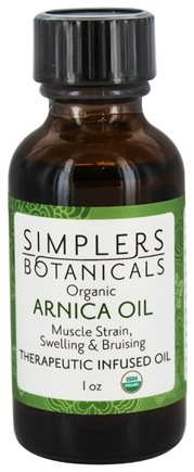 DROPPED: Simplers Botanicals - Therapeutic Infused Oil Organic Arnica - 1 oz.