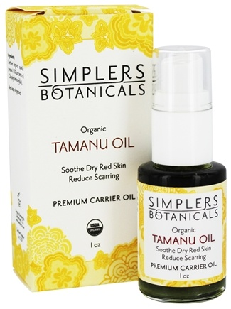 DROPPED: Simplers Botanicals - Premium Carrier Oil Organic Tamanu - 1 oz.