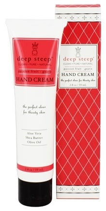 DROPPED: Deep Steep - Hand Cream Passion Fruit-Guava - 2 oz.
