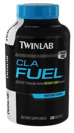 DROPPED: Twinlab - CLA Fuel Definition Stimulant Free - 120 Softgels