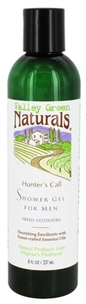 Valley Green Naturals - Hunter's Call Shower Gel For Men Fresh Outdoors - 8 oz.