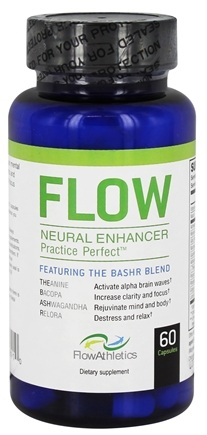 Flow Athletics - Flow Neural Enhancer Pre-Workout for Your Mind - 60 Capsules