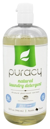 DROPPED: Puracy - All Natural 4x Laundry Detergent Free & Clear - 32 oz.