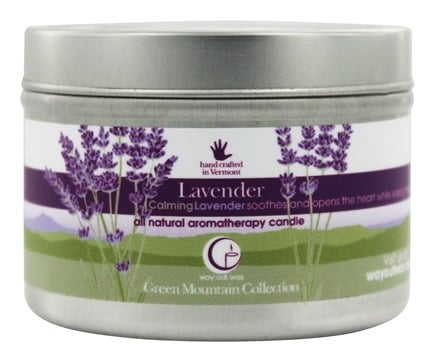Way Out Wax - Soy Wax Candle Medium Travel Tin Lavender - 3 oz.
