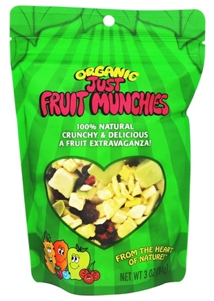 DROPPED: Just Tomatoes, Etc! - Organic Just Fruit Munchies - 3 oz.