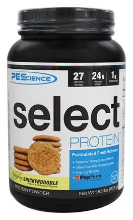 DROPPED: PES: Physique Enhancing Science - Select Protein Powder Amazing Snickerdoodle - 1.96 lbs.