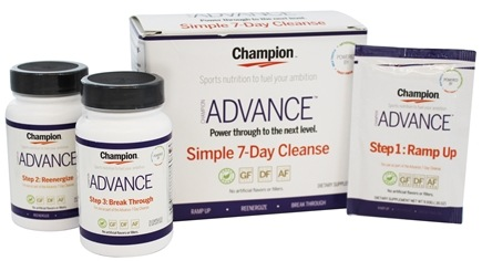 Champion Naturals - Advance Simple 7-Day Cleanse Kit - 3 Piece(s)