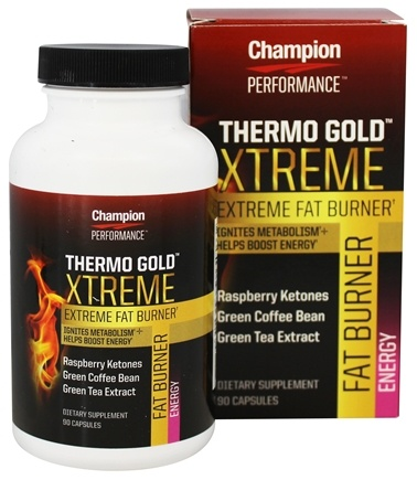 DROPPED: Champion Performance - Thermo Gold Xtreme Extreme Fat Burner - 90 Capsules