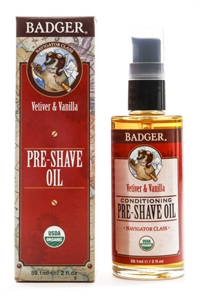 Badger - Man Care Pre-Shave Oil - 2 oz.