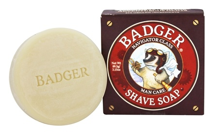 Badger - Man Care Shaving Soap - 3.15 oz.