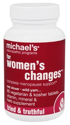 DROPPED: Michael's Naturopathic Programs - For Women's Changes Complete Menopause Support - 90 Vegetarian Tablets