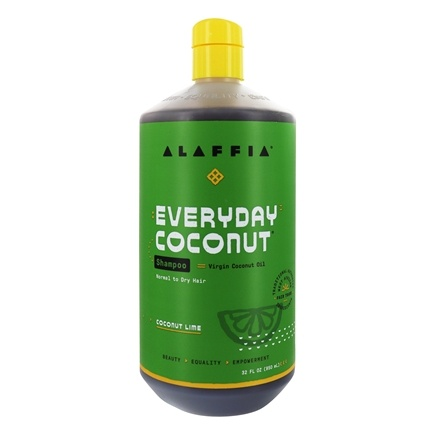 Alaffia - Everyday Coconut Shampoo Ultra Hydrating Coconut Lime - 32 oz.
