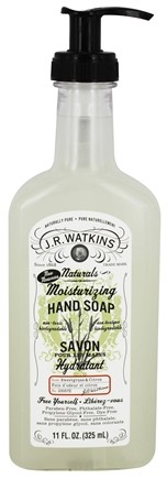 DROPPED: JR Watkins - Moisturizing Hand Soap Sweetgrass & Citron - 11 oz.